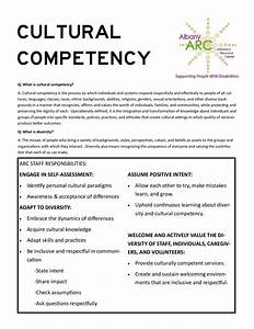 Resources – A... Cultural Competency