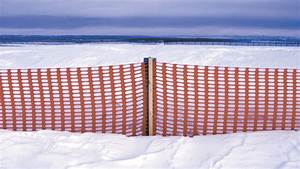 How To Install A Snow Fence