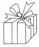 Christmas Coloring Pages Presents Present Clipart Bow Bows Cartoon Cliparts Clip Printable Library Easy Learning Outline Pre Card Colouring Simple sketch template