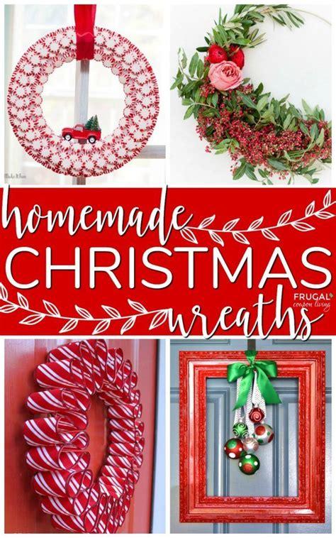 diy christmas wreaths inspiration home improvement