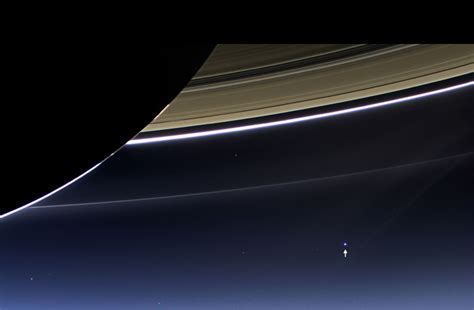 The Day Earth Smiled Stunning Photo From Saturn