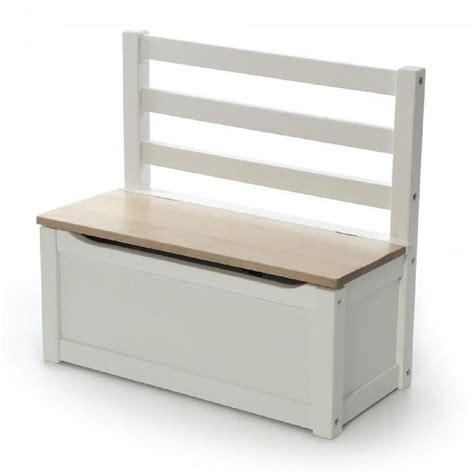 chambre bebe bois blanc coffre de rangement pour enfants petit banc déco