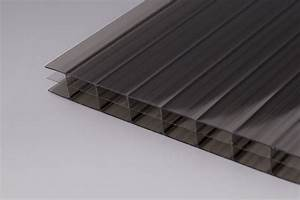 Polycarbonat Wellplatten 3 Mm : 16 mm stegdreifach platten polycarbonat bronze onlineshop f r wellplatten und stegplatten ~ Orissabook.com Haus und Dekorationen