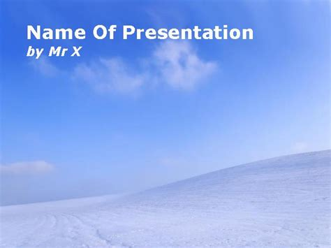 schnee powerpoint vorlagen power point vorlagende