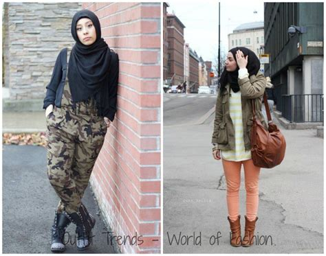 outfittrends  popular hijab street style fashion ideas