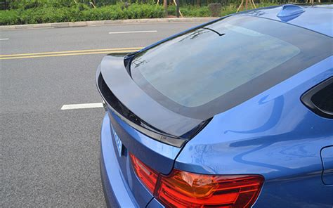 bmw  series gt  carbon fiber rear spoiler wing