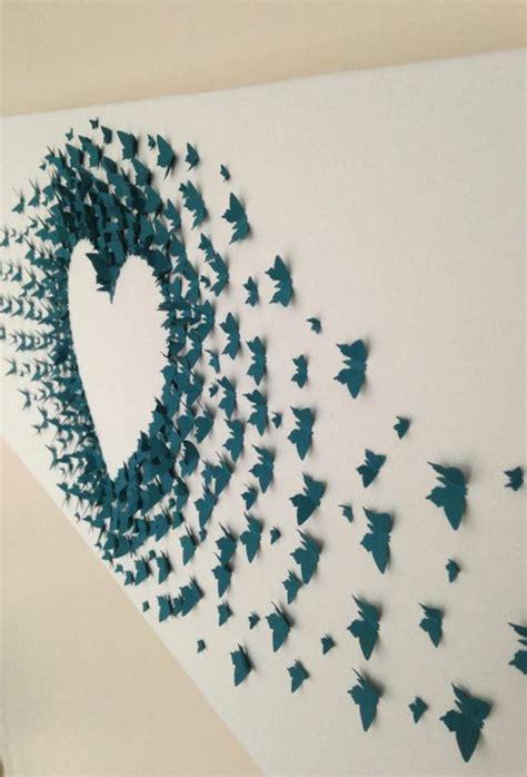 Selber Machen Aus Papier by 1001 Ideen Wie Sie Eine Kreative Wanddeko Selber Machen