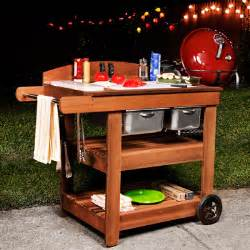 Patio Bistro Gas Grill by Grill Cart Plans How To Make A Grill Cart