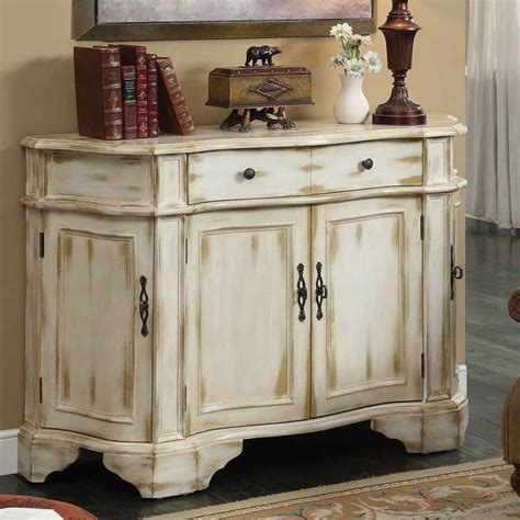 brina accent hallway entryway living room console sofa table doors antique white ebay