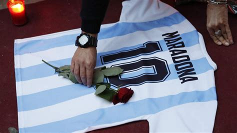 Maradona's 'Hand of God' shirt not for sale, says England ...