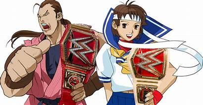 Deviantart Hibiki Sakura Dan Kasugano Champions