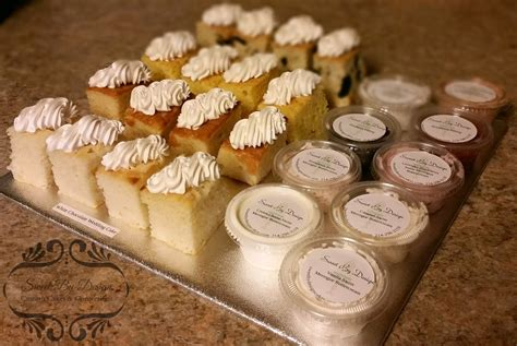 wedding tasting filled weekend sweet by design