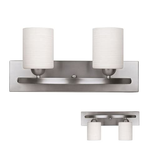 brushed nickel  globe vanity bath light bar interior