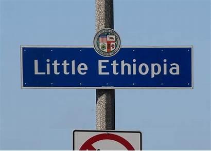 Ethiopia Los Angeles Sign Wikipedia Ethiopian Fairfax