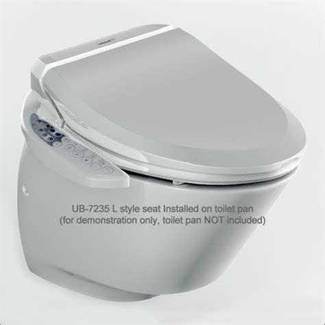 Bidet Style Toilet Seat by Ub 7235l Electronic Bidet Toilet Seat Elongated Style