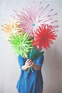 Blume Aus Frühstückstüten : blumen selber basteln 55 ideen f r kinder und erwachsene ~ Watch28wear.com Haus und Dekorationen