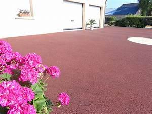 Enrobé A Froid : enrob froid rubis rouge permeable et drainant ~ Farleysfitness.com Idées de Décoration