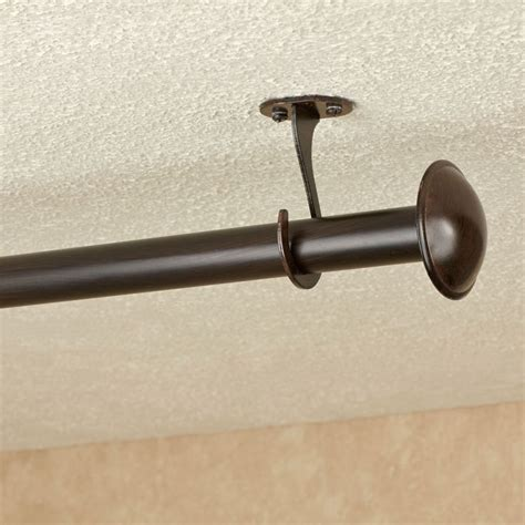 curtain rod ceiling bracket curtain menzilperde net