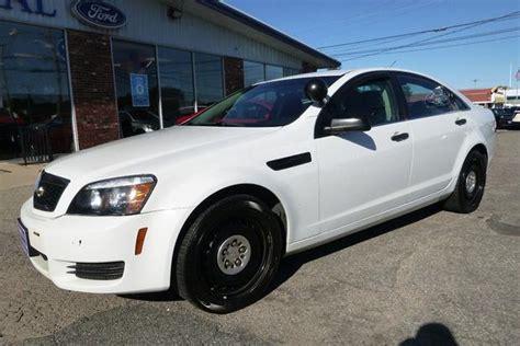 2013 Chevrolet Caprice Ex-police Car For