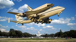 Space Shuttle To Terrify Washington DC With Low Flyover ...