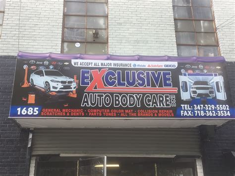 5901 falls of neuse rd, raleigh, nc 27609, ee. Exclusive auto body care 1685 Carter Ave, Bronx, NY 10457 - YP.com