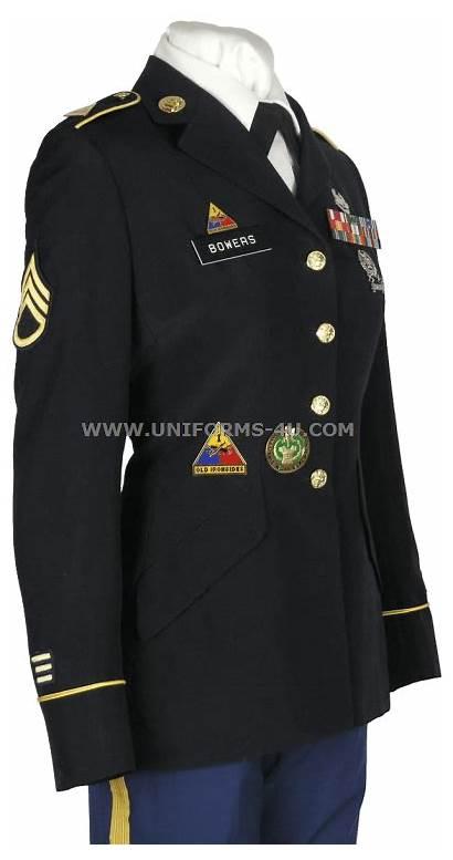 Asu Female Enlisted Army Uniform Service Uniforms