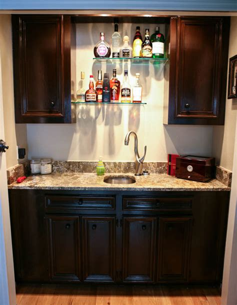 Home Bar Makeover by Eclectic Recipes Home Office And Bar Makeover