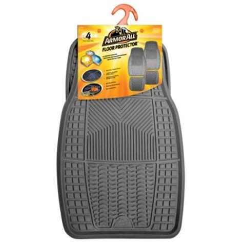 floor mats menards armor all 174 4 piece heavy duty floor mats at menards 174