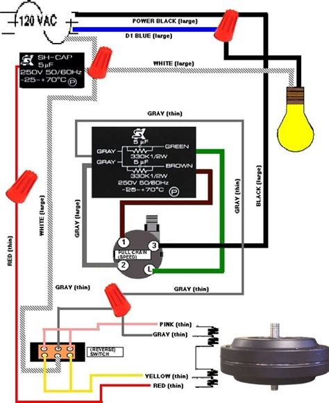 Hampton Bay Ceiling Fan Wiring Diagram Fuse Box