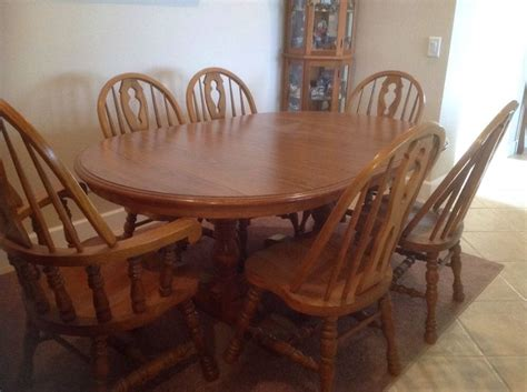 ebay used dining room table and chairs oak dining room set makeover chalk paint painted dining room table and chairs ebay dining room sets