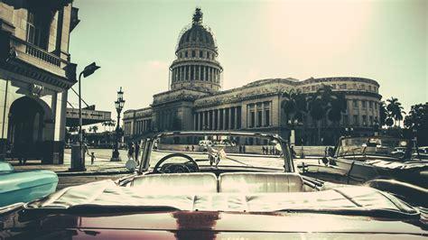 Cuban Background Wallpaper City Buildings Car Cuba Desktop