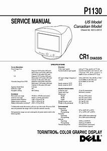 Dell 1707fpc Lcd Monitor Service Manual Free Download  Schematics  Eeprom  Repair Info For
