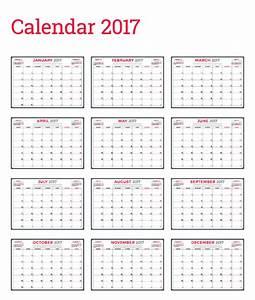 Common wall calendar template vector