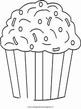 Cupcake Coloring Sprinkles Pages Chocolate Ice Cream Cupcakes Da Muffin Birthday Colorare Immagini Colouring Sheets Di Print Food Icecream Disegni sketch template
