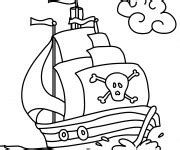 Dessin Anime Bebe Bateau by Coloriage Bateau Pirate Dessin Gratuit 224 Imprimer