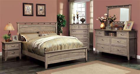 loxley weathered oak platform bedroom set cml  bed