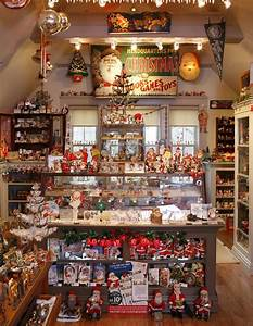 A, Home, Filled, With, Antique, Christmas, In, New, Jersey