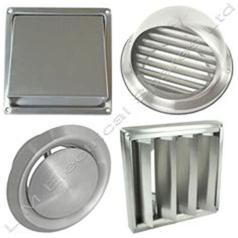 How To Clean Kitchen Exhaust Fan Cover by Vintage Chrome 13 Quot Kitchen Bathroom Air Exhaust Fan Cover