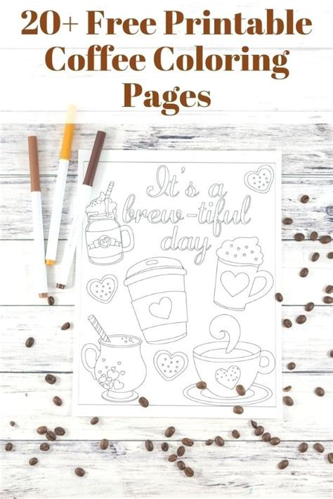 Coloring book pages hygge cups tea or cozy coffee mug with floral pattern and different flowers plant ornaments art print elements. #adults #coffee #Coloring #Sheets #Coloring #Sheets Coffee Coloring Sheets for Adult… | Coloring ...