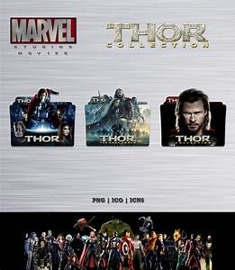 Thor Movie Collection Folder Icon Pack by Bl4CKSL4YER on ...