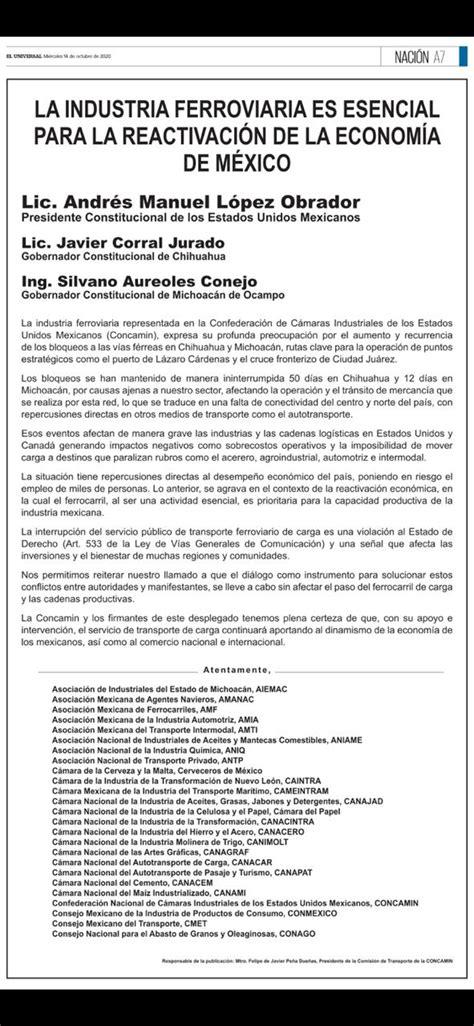 Exige industria ferroviaria reapertura de vías en Estación Consuelo – Las Noticias de Chihuahua – Entrelíneas