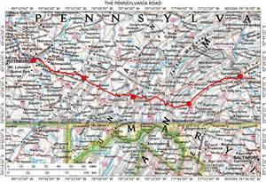 PA Road Maps Pennsylvania