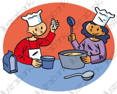 apprendre à cuisiner apprendre à cuisiner illustration atelier découverte libre de droit sur illustrabank com