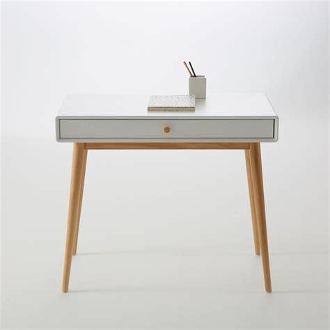 bureau gris metal dans meuble bureau 1 tiroir jimi la redoute interieurs la redoute