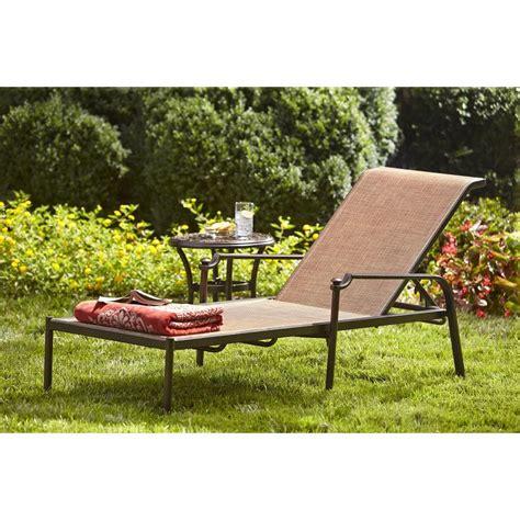 chaise balancelle hton bay niles park sling patio chaise lounge