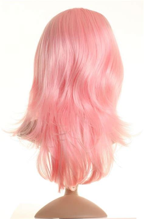 light pink wig pink wig beautiful pink wigs buy uk