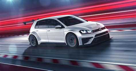 volkswagen golf gti tcr  hp   racing version