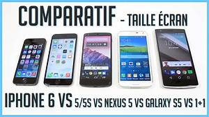 Taille Des Iphone : iphone 6 vs iphone 5s 5 vs galaxy s5 vs one plus one vs nexus 5 comparatif taille de l 39 cran ~ Maxctalentgroup.com Avis de Voitures