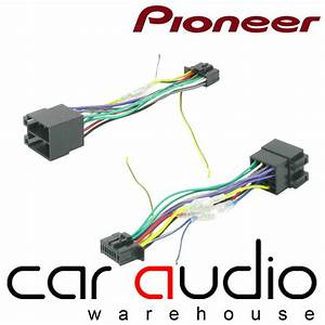 Pioneer 16 Pin Iso Head Unit Replacement Car Stereo Wiring