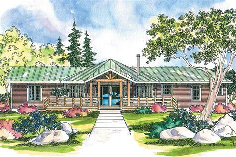 lodge style house plans bismarck    designs
